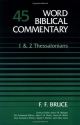 Word Biblical Commentary Vol. 45, 1 & 2 Thessalonians