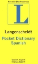 Langenscheidt's Pocket Dictionary: Spanish-English / English-Spanish (English and Spanish Edition)