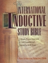 International Inductive Study Bible: New American Standard Bible
