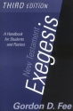 New Testament Exegesis: A Handbook for Students and Pastors(3rd Edition)