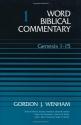 Word Biblical Commentary, Vol. 1, Genesis 1-15