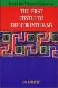 The First Epistle to Corinthians