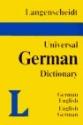 Langenscheidt's Universal German Dictionary: German English English German