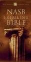 NASB Trimline Bible, Button-Flap