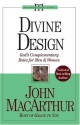 Divine Design: God's Complementary Roles for Men and Women (John Macarthur Study)