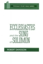 Ecclesiastes and the Song of Solomon (Daily Study Bible (Westminster Paperback))