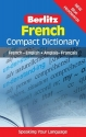 French Compact Dictionary: French-English/Anglais-Francais (Berlitz Compact Dictionary) (English and French Edition)