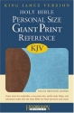 Personal Size Giant Print Reference Bible-KJV