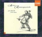 Mstislav Rostropovich: J.S.Bach Cello-Suiten