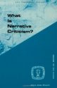 What Is Narrative Criticism? (Guides to Biblical Scholarship New Testament Series)