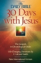 30 Days with Jesus (The Daily Bible®)