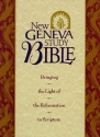 Holy Bible: New Geneva Study Bible, New King James Version, Black Genuine Leather (Style No 2996/Black)