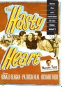 The Hasty Heart - Authentic Region 1 DVD Starring Ronald Reagan, Patricia Neal and Richard Todd