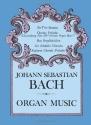 Johann Sebastian Bach: Organ Music (Dov...