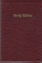 Holy Bible King James Version Personal Size Giant Print Burgundy Bonded Leather (544BG)