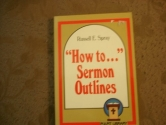 How to Sermon Outlines (Pulpit Library)
