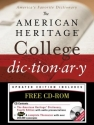 The American Heritage College Dictionary, Fourth Edition with CD-ROM