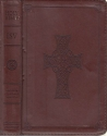 The Holy Bible: English Standard Version (ESV) [Pocket Size with Embossed Cross on Front] Chestnut