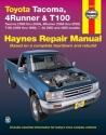 TOYOTA TACOMA (1995-2004), 4RUNNER (1996-2002) & T100 (1993-1998)(Haynes Repair Manual)