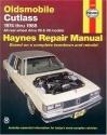 Oldsmobile Cutlass '74'88 (Haynes Manuals)