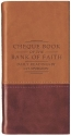 Chequebook Of The Bank Of Faith Tan/burg