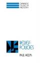 Belief Policies (Cambridge Studies in Philosophy)