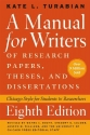 A Manual for Writers of Research Papers...