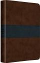 ESV Gospel Transformation Bible (TruTone, Saddle/Navy, Trail Design)