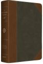 ESV MacArthur Study Bible (TruTone, Forest/Tan, Portfolio Design)