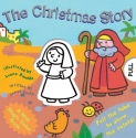 The Christmas Story (Magic Color Books)