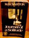 Journal of a Solitude: Reflections during One Year
