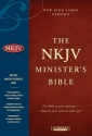 Holy Bible: New King James Version, Minister's, Black Genuine Leather
