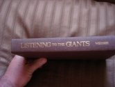 Listening to the Giants: A Guide to Good Reading and Great Preaching (ISBN: 0801096189 / 0-8010-9618-9)