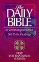 The Daily Bible in Chronological Order: New International Version