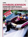 Evinrude/Johnson Outboard Shop Manual 2-300 Hp, 1991-1994/Includes Jet Drives and Sea Drives (Clymer Marine Repair)