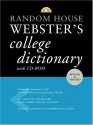 Random House Webster's College Dictionary with CD-ROM (Random House Webster's College Dictionary (W/CD))