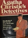 Agatha Christie's Detectives: Five Complete Novels (The Murder at the Vicarage / Dead Man's Folly / Sad Cypress / Towards Zero / N or M?)