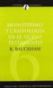 Monoteísmo y cristología en el N.T. (Coleccion Teologica Contemporanea: Estudios Teologicos) (Spanish Edition)