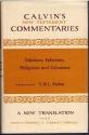 Galatians, Ephesians, Philippians, and Colossians (Calvin's New Testament Commentaries)