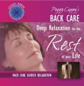 Peggy Cappy's Back Care: [Audio CD] Guided Relaxation Series