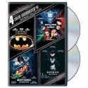 4 film favorites: BATMAN COLLECTION-DVD VIDEO