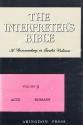 The Interpreter's Bible, Vol. 9: Acts, Romans