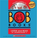BOB Books Set 1 Bind-up: Books #1-4 + CD