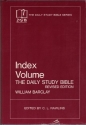 The Daily Study Bible Index: Index (Index Volume)