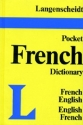 Langenscheidt's Pocket French Dictionary: French-English, English-French (Vinyl Edition)