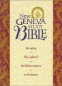 Holy Bible: New Geneva Study Bible, New King James Version, Burgundy Genuine Leather (Style No 2996bg/Burgundy)