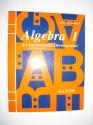 Algebra 1: An Incremental Development -...
