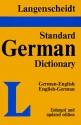 Langenscheidt's Standard German Dictionary: English-German, German-English (German and German Edition)