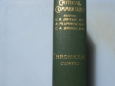 Chronicles I and II (International Critical Commentary)