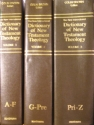 The New International Dictionary of New Testament Theology, Vol. I-III